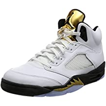sports shoes 9452e 717db Nike Air Jordan 5 Retro, Scarpe da Fitness Uomo