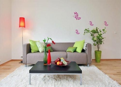 sticker-mural-papillons-set-butterfly-autocollant-resine-acrylique-bleu-roi-1x-20cm-3x-10cm