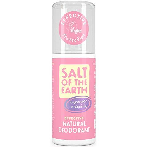 SEL DE LA Terre Pure Aura Lavande et vanille Naturel Déodorant spray 100 ml