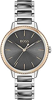Hugo Boss Women's Analogue Quartz Watch with Stainless Steel Strap 150