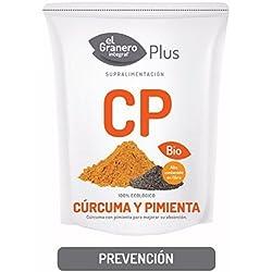 Cúrcuma y Pimienta Bio (superalimentos) 200 gr de El Granero Integral