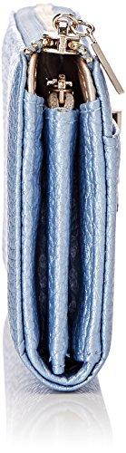 Guess Bobbi, Portafoglio Donna Blu (Sky Blue)