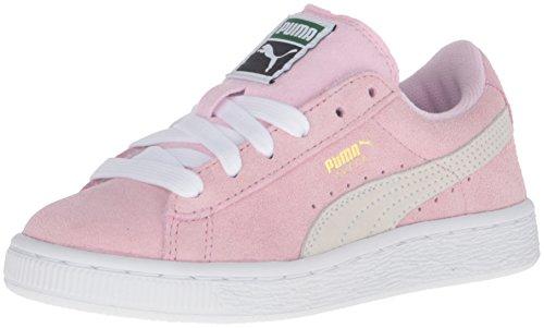 Puma, Sneaker bambini nero Black/White Pink Lady/ White/ Team Gold