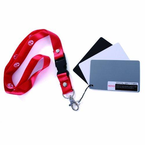 Movo Photo set card per bilanciamento bianco/colore per...