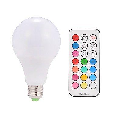 JINLI Bulbs Gute Qualität, 9w ac85-265v e26 / e27 10w führte intelligente birnen a80 38 SMD 5050 warmes weißes RGB v 1 pcs Fit Haus & Küche (Farbe : Weiß, Connector : E26/E27-RGBW-85-265V-10W) (Led-belegungs-sensor-licht)