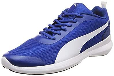 PUMA Men's Lazer Evo IDP Limoges White Sneakers-6 UK/India (39 EU) (4060981882398)