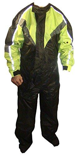 Big Man-anzüge (rjsports einem Stück wasserdichte Motorrad Motorrad Full Body Regen über Anzug Big Größen)