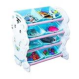 Infantil Librerías Estantería de Almacenamiento de Juguetes para niños Sala de bebés...