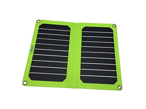IFITech SLUSB11-408 Solar Foldable Charger (Black)