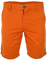 NAPAPIJRI Nayerou Herren Men Shorts Kurz Hose Chino Bermuda Orange Neu New Logo