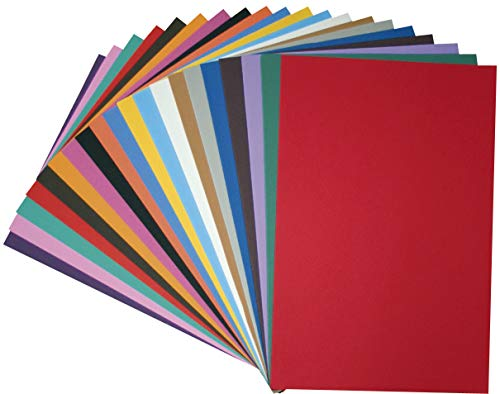 Eduplay 200047 Moosgummi 20er Set - A4 (Grau Und Rosa Papier-platten)