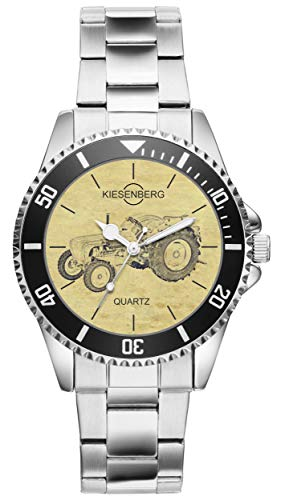 Regalo para Porsche Diesel Master Tractor Fan Conductor Kiesenberg Reloj 20464