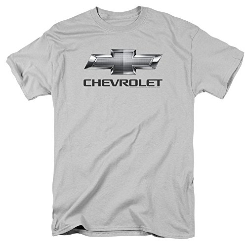 chevrolet-t-shirt-uomo-silver-x-large