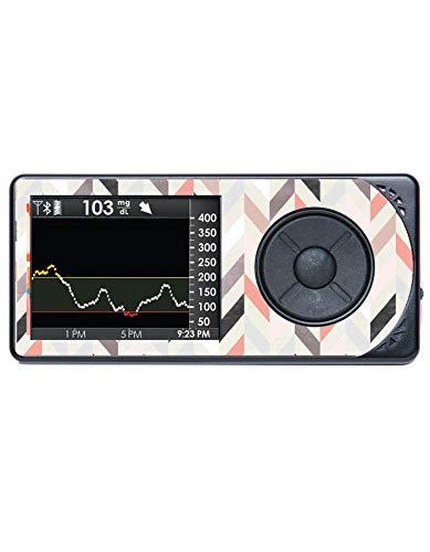 Diabetes Vinyl Sticker Dexcom Receiver G5 - Geometric