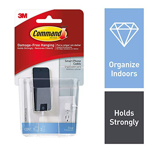 3M Command HOM-17 Smart Phone Caddy with Clear Strips for sale  Delivered anywhere in Ireland