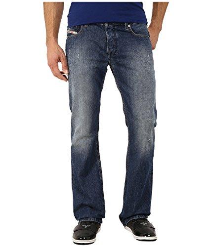 Diesel Herren Zatiny 0844U Regular Bootcut Jeans, Blau, 38W x 32L