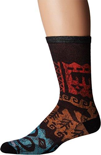 Smartwool Herren Jaguar Print Socken Outdoor-Socken, tibetan red, L (42-45) -