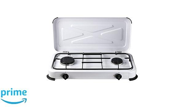 Outdoorküche Gas Xiaomi : Papillon 8145045 gaskocher mit 2 flammen weiß: amazon.de: sport