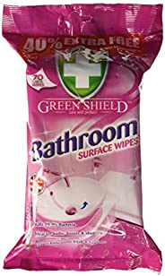 Greenshield Bathroom Surface Wipes - Pack of 70