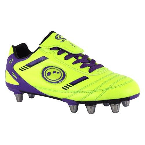 Optimum - Stivali, Uomo Giallo (Yellow/Purple)