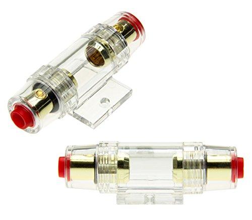 Adaptateur Universe® AGU Mini Porte Fusibles Batterie Principale Fusible Fusible 30 Amp 80 Amp Or