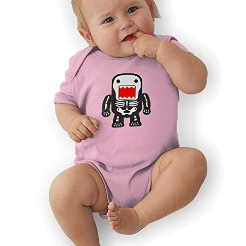 Domokun Kostüm - fenglinghua Babybody Newborn Nap Baby Romper Bodysuit Funny Cool Domo-kun Skeleton Graphic Short-Sleeve Bodysuits