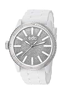 edc by Esprit - EE100922017 - Montre Femme - Quartz Analogique - Bracelet Résine Blanc