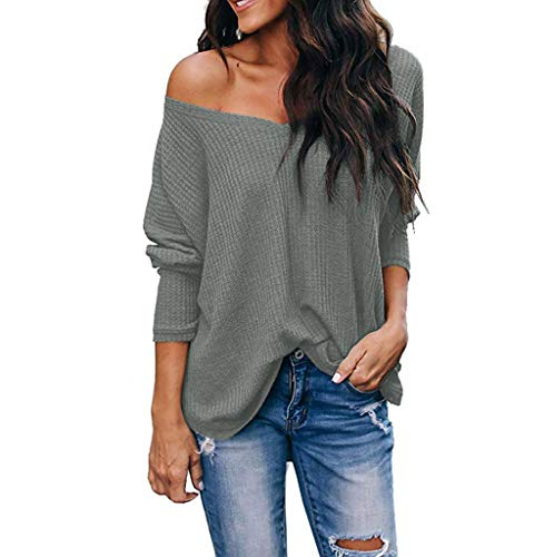 Kashmir Kinder Kostüm - TOPSELD Damen one Shoulder Stretch Bluse mit kurzen Ärmeln