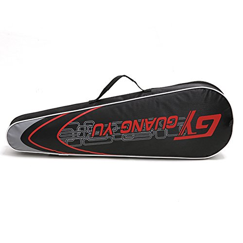 SueSupply Badmintonschläger hülle Racketbag Unisex Badmintonschläger tasche Einheitsgröße Badminton Racket Cover Case 70*6*25cm