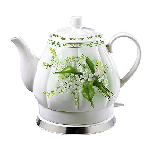 Porzellan-Wasserkocher Elektrokocher Teekessel
