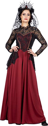 Wilbers & Wilbers Gothic Kostüm Gräfin Vampir Hexe Herrin Mittelalter