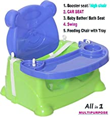 Trugoods Baby Booster Seat/Swing Multipurpose Kids Feeding High Chair
