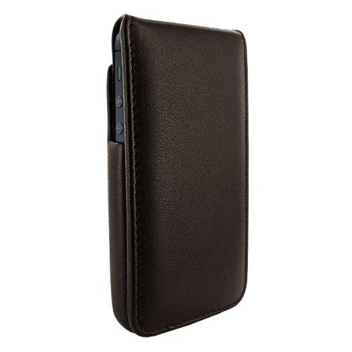 Piel Frama U599M iMagnum Ledertasche mit Magnetverschluss für Apple iPhone 5/5S braun (Tasche Piel 2)