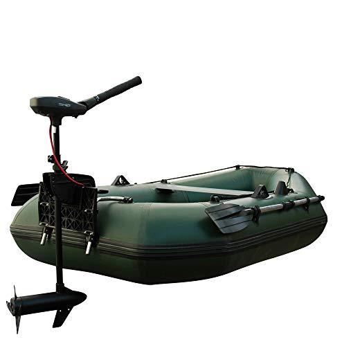 Schlauchboot mit Motor: Set Prowake Angelboot Luftboden IBA 250 mit Elektromotor PSM40