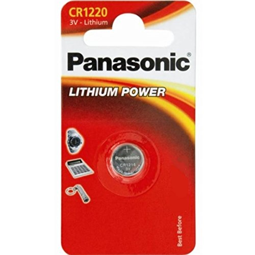 Panasonic CR12203Volt Lithium-Knopfzelle (10PCS) (Persönlichen Panasonic Geräte)