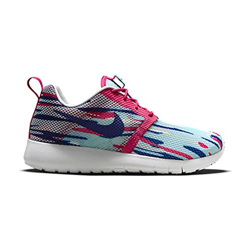 Chaussures Nike ROSHE ONE FLIGHT WEIGHT Bleu-Rose