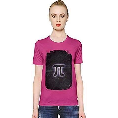 Pi Symbol T-shirt donna Women T-Shirt Girl Ladies Stylish Fashion Fit Custom Apparel By Slick Stuff