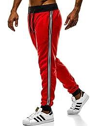 2ac23249ebe3b3 OZONEE Herren Jogg Hose Freizeithose Sporthose Jogginghose Jogger  Trainingshose Fitness J.Style…