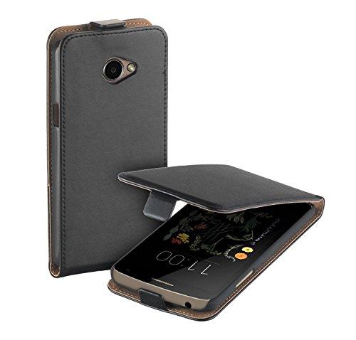 yayago Flip Tasche für LG K5 Hülle Flip Case Schwarz