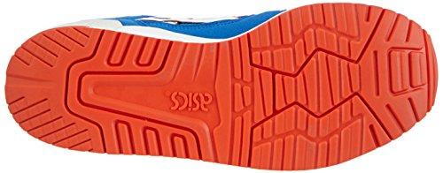 Asics Gel-Lyte III GS, Scarpe sportive, Unisex-adulto Blu (Strong Blue/White 4401)