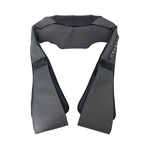 Sybosy Nacken- und Rückenmassagegerät mit Wärme Deep Shiatsu Knetgewebe Massage für Muskelschmerzen Relief Entspannung - Innenministerium und Autobenutzung
