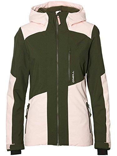 O 'Neill Cascade Jacket Snow, Mujer, 8P5042, Rosa Pastel, Extra-Small