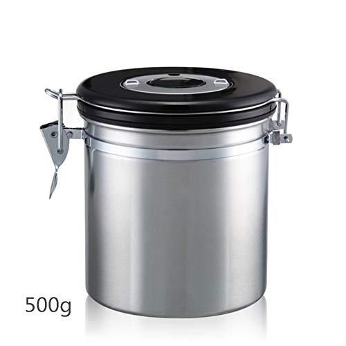 Food Storage Kanister, Trockenfrüchte Lagertank und Edelstahl-Kaffee-Kanister,Large