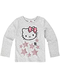 Hello Kitty Fille Tee-shirt manches longues 2016 Collection - gris
