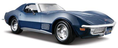 1970 Chevrolet Corvette [Maisto 31202], Metallic Blue, 1:24 Die Cast