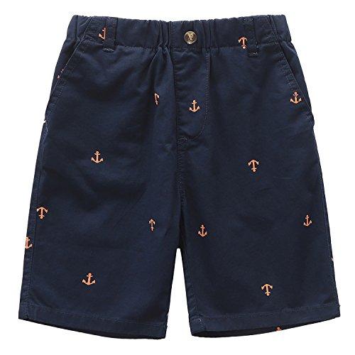 Grandwish Jungen Cargo Shorts Sommer Marine Gr.128