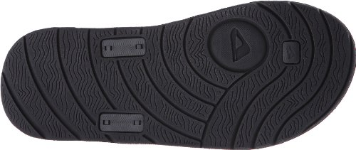 Reef Phantom Flight, Tongs homme Noir (Black/Silver)