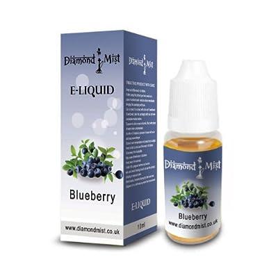Diamond Mist 10 ml Blueberry E-Liquid by Diamond Mist
