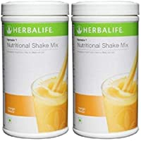 Herbalife Formula 1 Nutritional Shake Mix natural protein for body health | Mango Flavor | 500 gms | Pack of 2