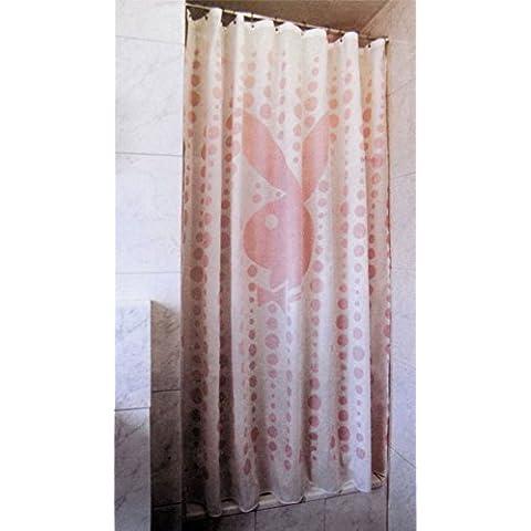 LICENCIA OFICIAL PLAYBOY ROSA BURBUJAS DUCHA VONELLA 180 cm